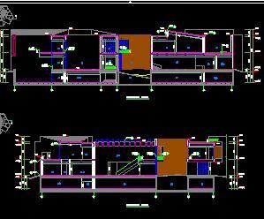 某传媒学院3栋教学楼全套施工图纸(建筑结构水电暖)