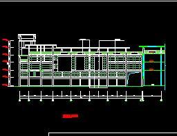 三层框架结构农贸市场建筑施工图纸