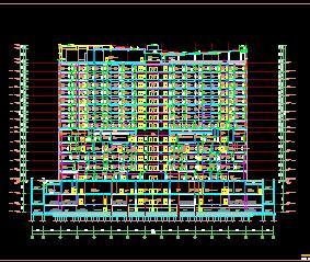 13层医院综合楼人防工程全套施工图纸(全专业)