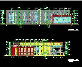 五层框架结构科技中心全套施工图纸(全专业