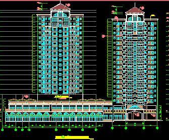 18层住宅楼建筑施工图纸