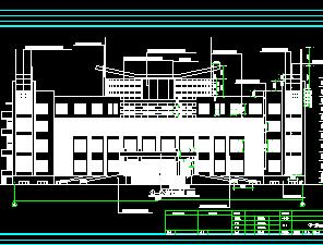 6层混合结构办公楼建筑施工图纸