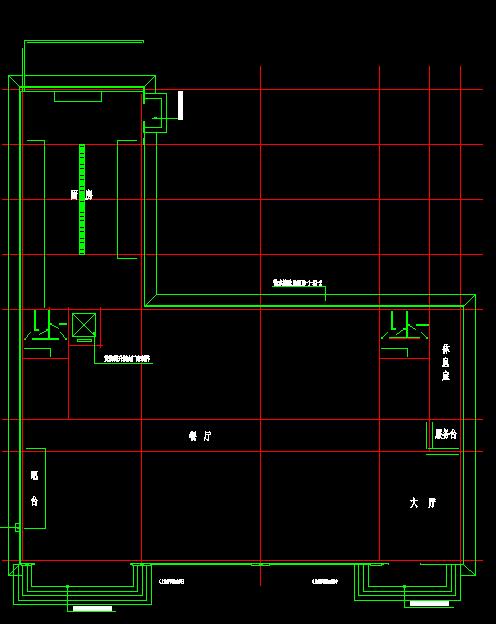 招待所建筑扩出施工图