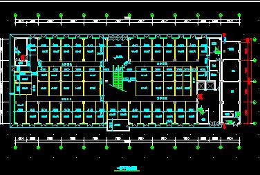 六层服饰城建筑结构施工图