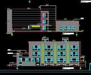 某三层10班幼儿园全套施工图纸(建筑结构水电暖)