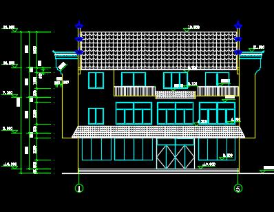 三层农家乐建筑施工窗户免费下载-工业、图纸越南的图纸农业建筑图片