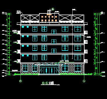 五层框架结构综合楼建筑结构施工图
