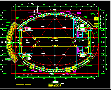 框架结构学校综合楼电气图纸(含建筑、结构、给排水、电气照明、暖通)8