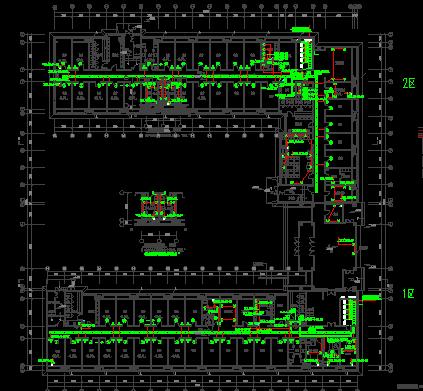 六层公寓楼建设电气工程强弱电图纸(含建筑、结构、水暖电)