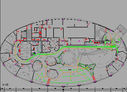 室内装饰工程图纸招标行车图纸(含水电暖、消起重设计电气图片