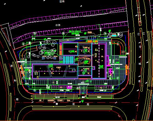 二层办公楼档案室装修项目电气施工图(含水暖电、装饰、结构)