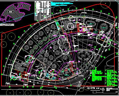 某精品酒店建设全套施工图(水暖电、建筑、结构)
