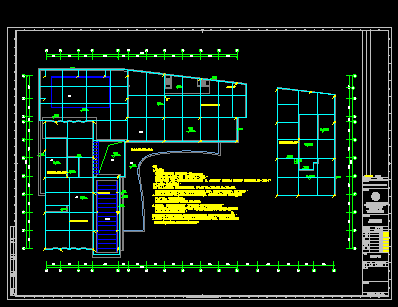 综合楼建设全套施工图(含水暖电、结构、建筑、计算书)