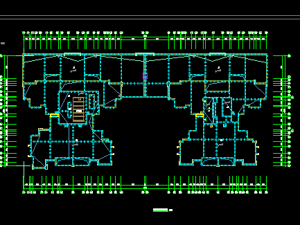 二十六层商住楼项目全套施工图纸(含建筑、水电暖)