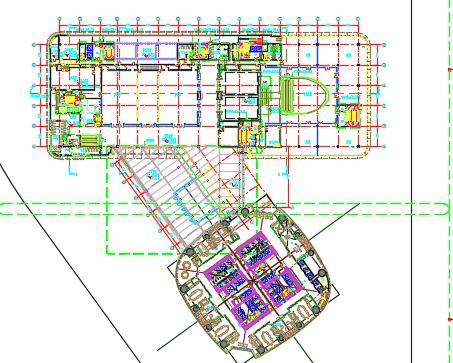 88层大型中央商业楼建筑施工图纸