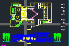 影剧院建筑施工图纸(多套汇总)