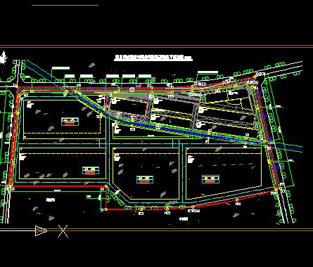 钢结构厂房建设施工图纸CAD