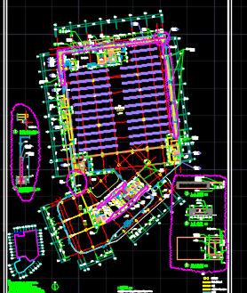 十层综?#19979;?#24314;筑施工图纸(含建筑结构水电暖通图)