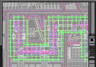 六层商务办公楼全套施工图(含建筑结构,水电暖)