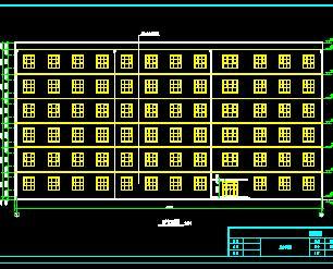 六层教学楼建筑施工图纸