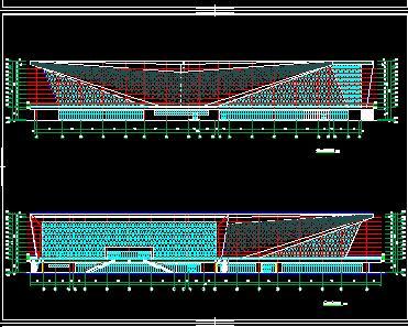 四层框架结构L形综合体育馆全套施工图纸(全专业)