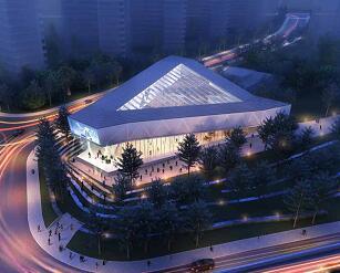 二层钢结构艺术中心全套施工图纸及方案文本