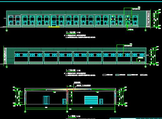 生产车间建筑施工图纸