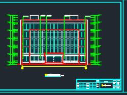 五层框架结构教研综合楼土建施工图