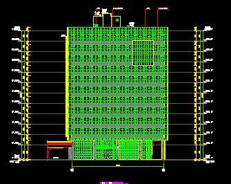 某培训中心12层综合楼全套施工图纸(全专业)