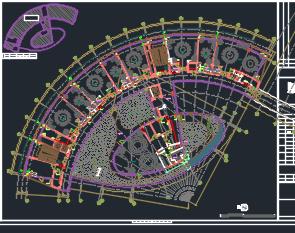 四层精品酒店全套施工图(含建筑结构水电暖)