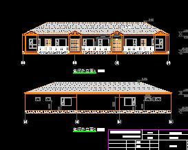 某度假山庄建筑结构施工图纸