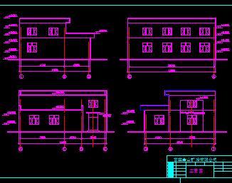 某砖混结构锅炉房建筑结构施工图纸