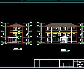 三层混合结构门卫室澳门新濠天地开户结构施工图纸