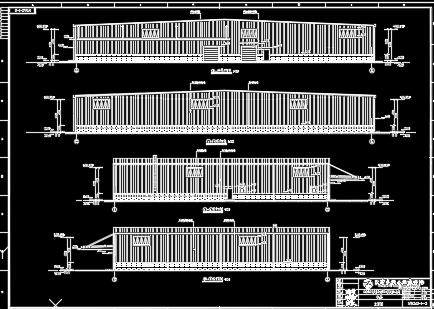单层门钢结构厂房施工图纸
