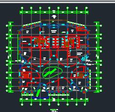 三十二层办公楼建筑施工图纸