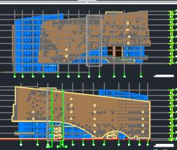 八��D���^框架�Y��建筑施工�D�