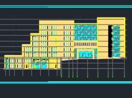 十二层教学楼建筑施工图(含建筑结构水电暖)