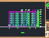六层生产车间综合楼建筑施工图纸(含建筑结构水电暖)