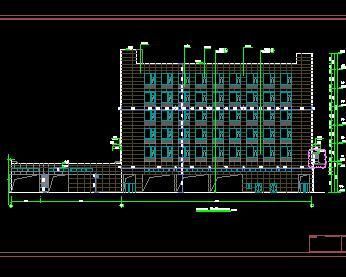某物流港配套建筑群全套施工图纸(含专业)
