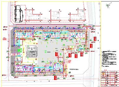 5栋高层剪力墙住宅楼建筑结构施工图纸