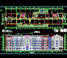 6层装配式框架办公楼建筑结构施工图纸