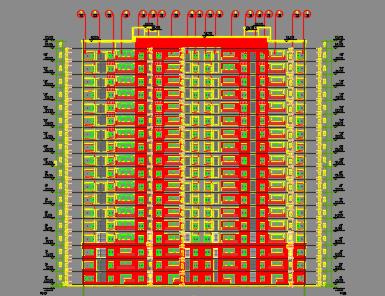 高层剪力墙住宅楼建筑结构施工图纸