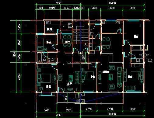 住宅户型建筑图纸
