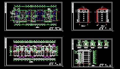 海关住宅施工设计图