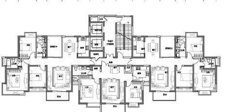 户型产品分析图免费下载 - 建筑户型平面图 - 土木