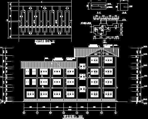 汽车站工程施工图免费下载 - 建筑户型平面图 - 土木
