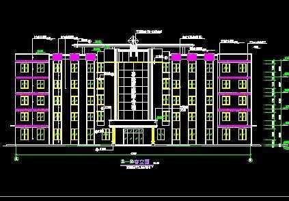 某医院门诊综合楼建筑设计免费下载 - 建筑户型平面图