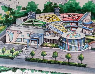 幼儿园设计学生作品免费下载 - 建筑户型平面图