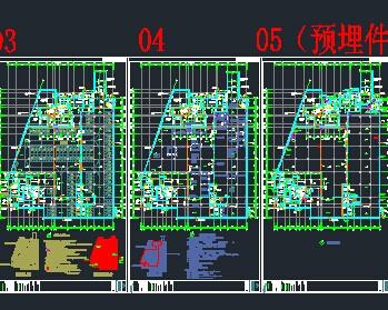 职工食堂建筑平面图