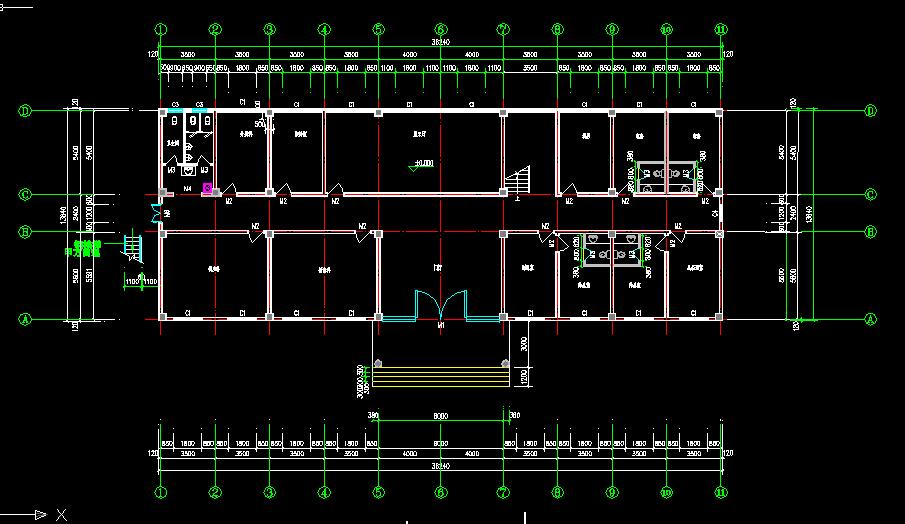 某办公楼建筑设计全套图纸